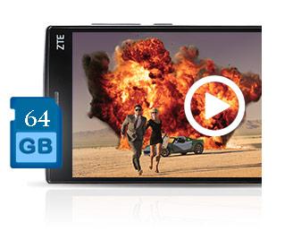 ZTE ZMAX 2 (Z955A) 2GB RAM / 16GB ROM 4G LTE 5 5