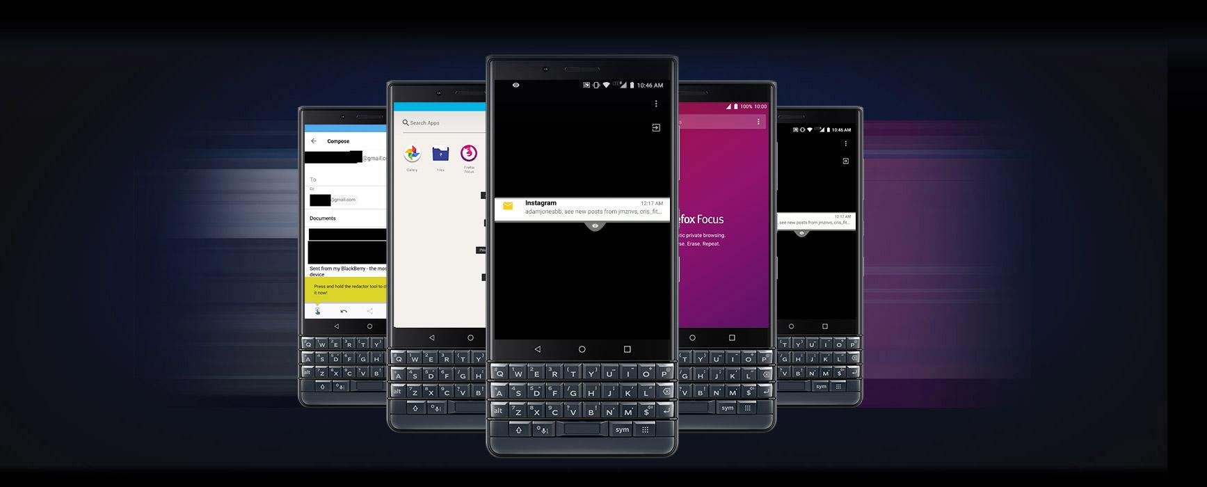 BlackBerry KEY2 LE 4G LTE Cell Phone 4 5