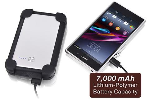 Luxa2 PO-UNP-PCP1SI-00 7000 mAh LUXA2 P1 Pro Ultra Capacity Power Bank -  Newegg com