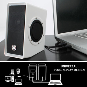 GOgroove USB Computer Speakers