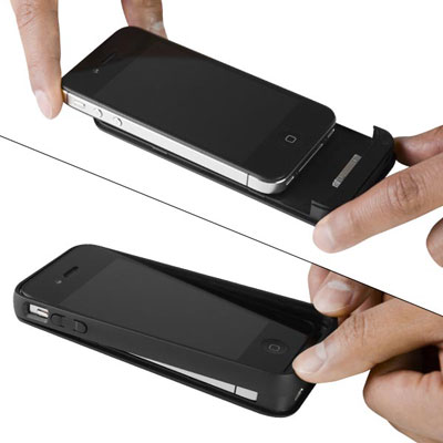 iPhone 4 4S offGRID™ PRO Backup Battery - Easy Installation