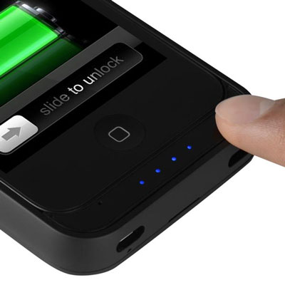 iPhone 4 4S offGRID™ PRO Backup Battery - Charge Status
