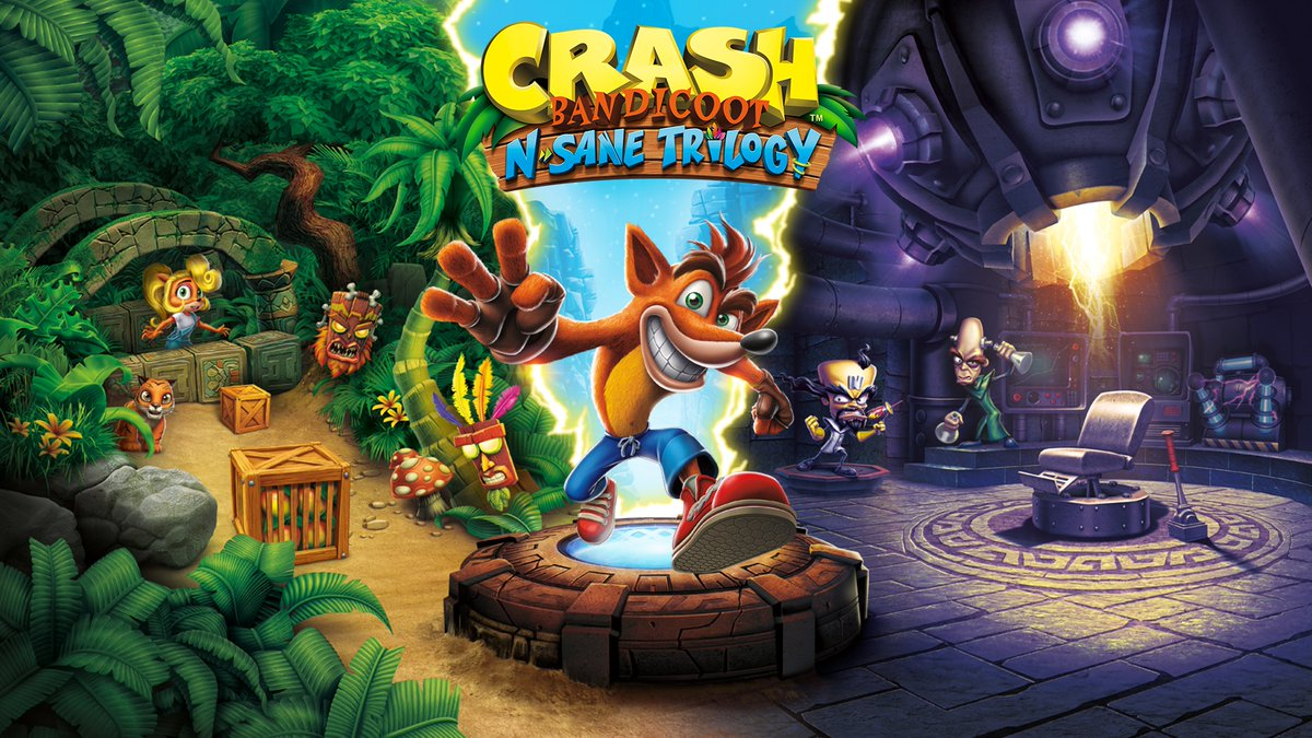 Crash Bandicoot N  Sane Trilogy - Nintendo Switch - Newegg com