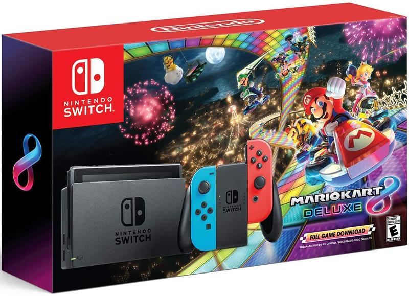 Nintendo Switch Mario Kart 8 Deluxe Bundle - Newegg com