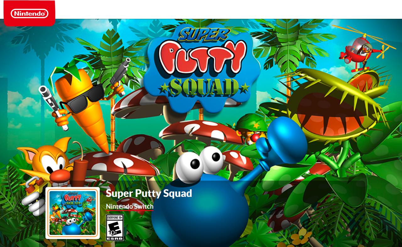 Super Putty Squad - Nintendo Switch - Newegg com