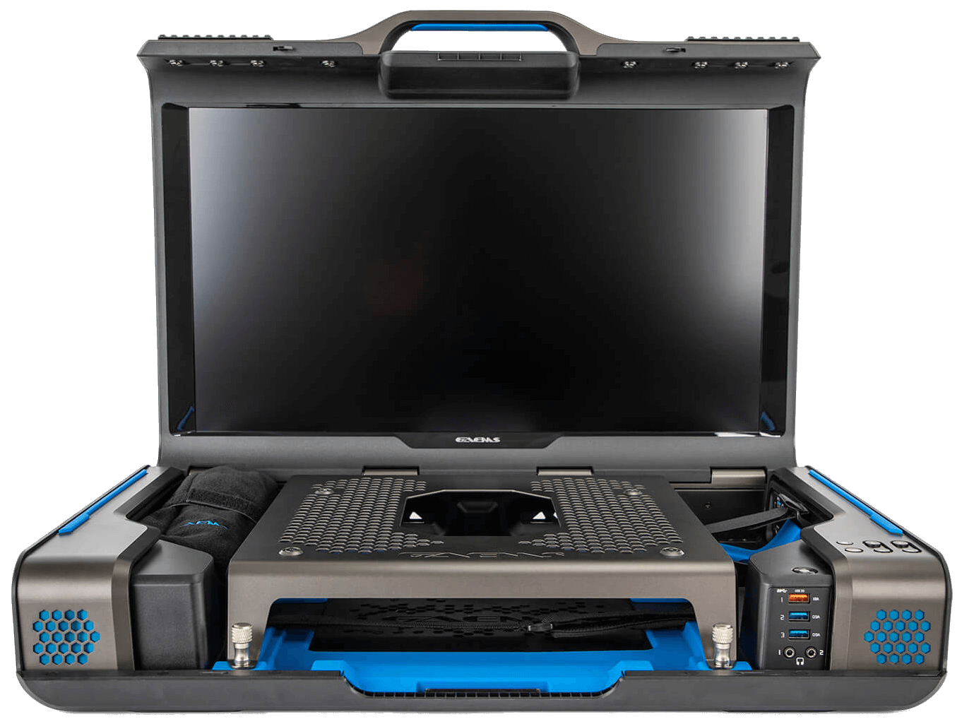 GAEMS Guardian Pro XP, Open and Facing Forward