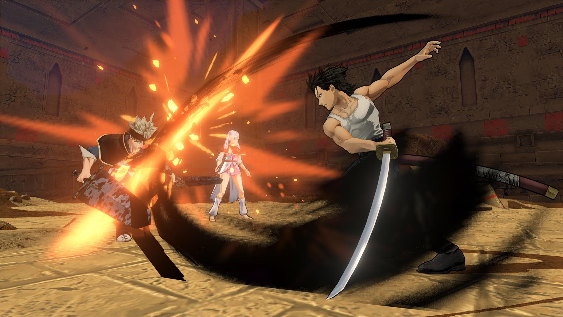 Black Clover Quartet Knights Playstation 4
