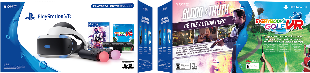c1_package_PlayStation VR Blood & Truth and Everybody Golf VR Bundle