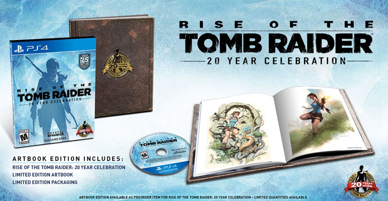 Rise Of The Tomb Raider 20 Year Celebration Playstation 4