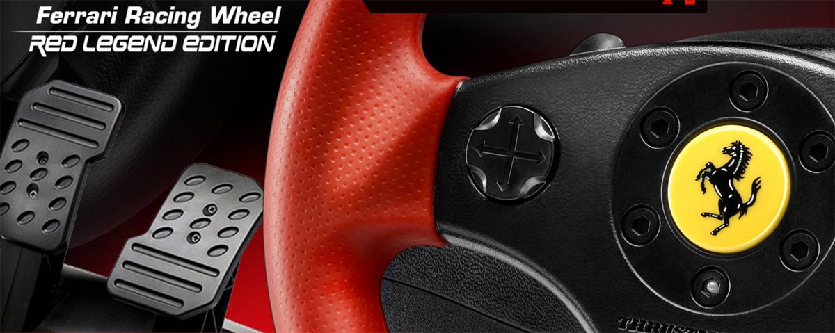Thrustmaster Vg Ferrari Racing Wheel Red Legend Edition Playstation 3