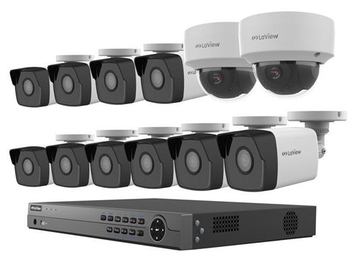 Laview 4mp 2688 X 1520p Full Poe Ip Camera Security System
