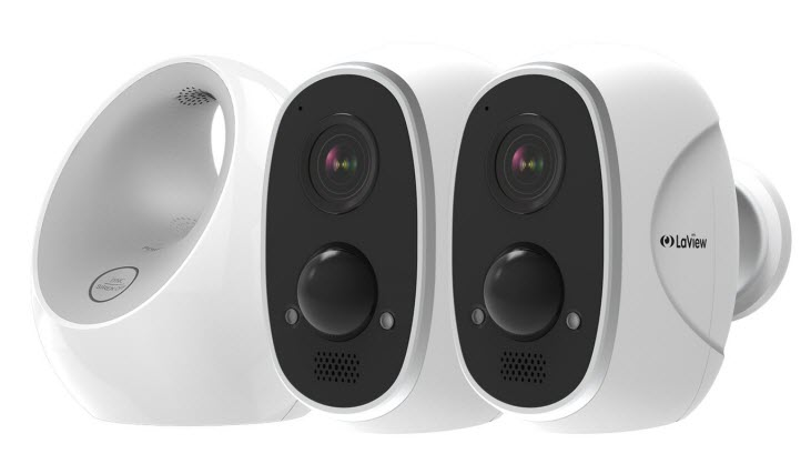 LaView ONE Link Wireless Outdoor Camera System w/ Smart Station