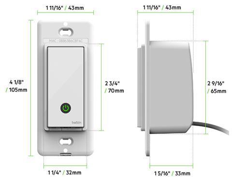 diagram2 belkin f7c030fc wemo light switch newegg com WeMo Light Switch Installation at webbmarketing.co