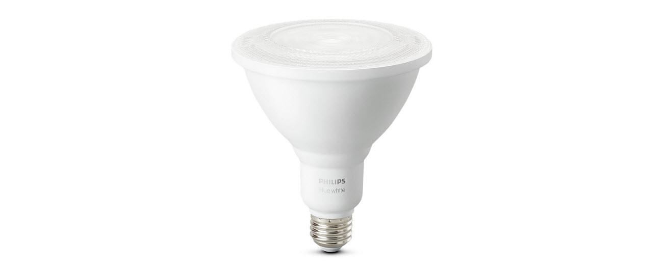 Philips Hue White Outdoor Par38 13w Smart Bulbs Philips Hue Hub Required 1 White Par38 Led Smart Bulb Works With Alexa Apple Homekit And Google