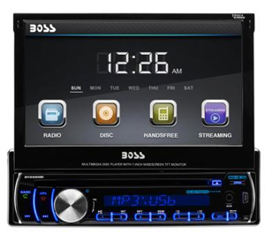 Boss Audio 7in LCD Touchscreen Display with Bluetooth -  BV9986BI