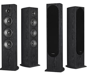 Four Pioneer SP-FS52 Floorstanding Speakers