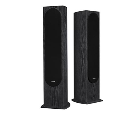Pioneer SP-FS52 Andrew Jones Designed Floorstanding Speakers Standing Up