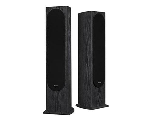 pioneer floor standing speakers. pioneer sp-fs52. sp-fs52 andrew jones designed floorstanding loudspeakers floor standing speakers f