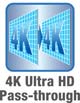 4K Ultra HD-Pass Through