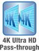 4K Ultra HD-Pass Through