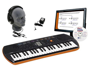 Casio SA-76 Mini Personal Keyboard Educational Package