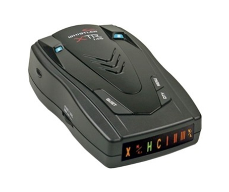 Whistler XTR-145 Radar/Laser Detector with Low-profile Periscopes & Easy-to-Read Icon Display