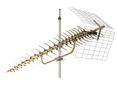 Boost Your UHF Signal With The 91XG From Terrestrial Digital This 91 Element Antenna Has A Gain Of 167dB On Channels 14 69 Making Great Option
