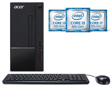 Details about Acer Desktop Computer Aspire T TC-865-NESelecti3 Intel Core  i3 8th Gen 8100 (3 6