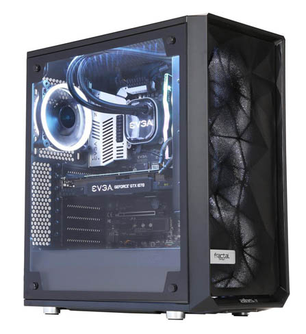 82c58be5ebe9 ABS Precision Pro Gaming Desktop PC Liquid Cooled (240 mm) Intel i7 ...