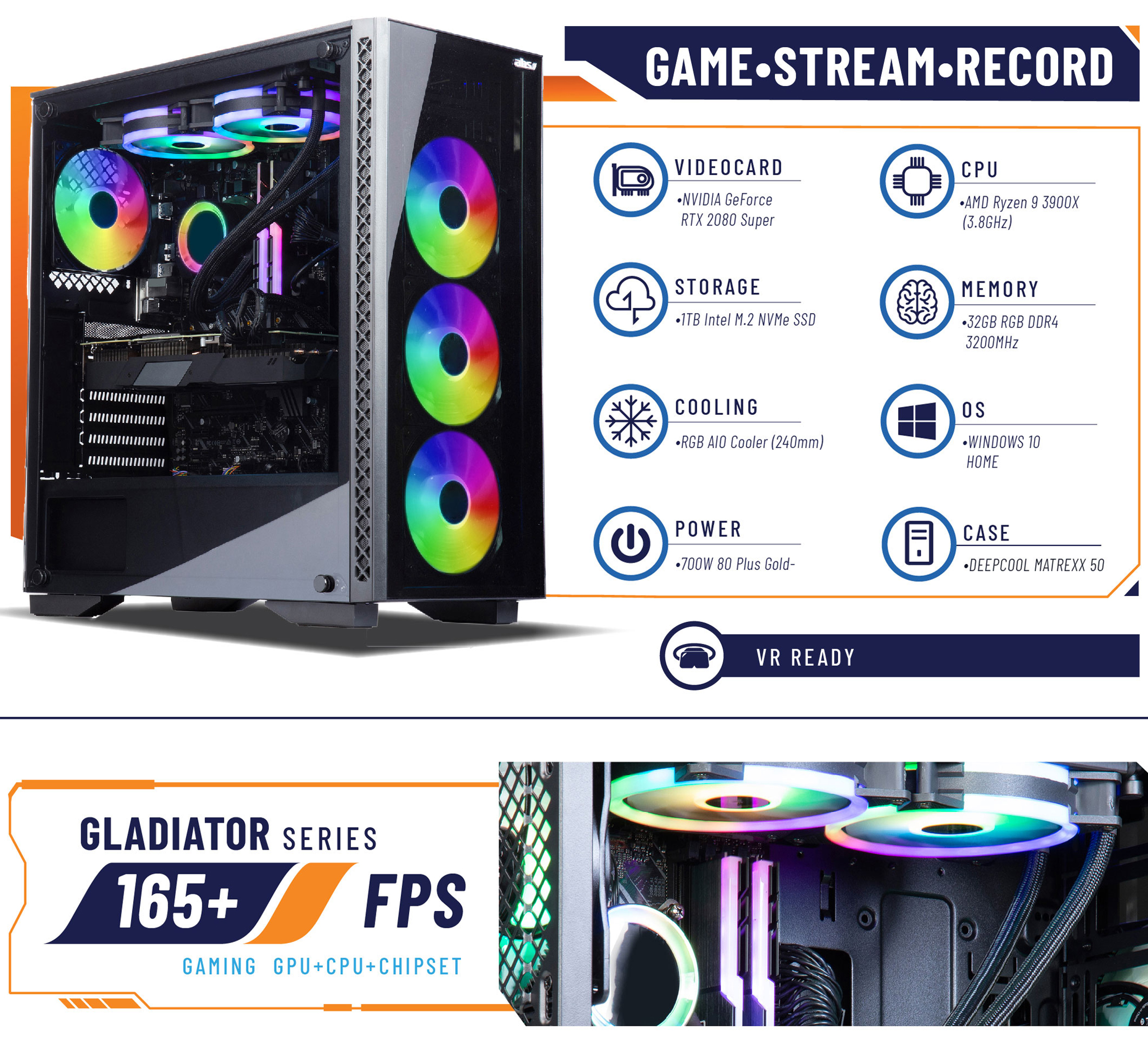 ABS Gladiator Gaming PC
