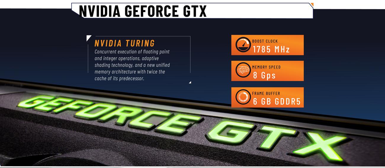 ABS Rogue SE Gaming Desktop PC NVIDIA GEFORCE GTX close-up
