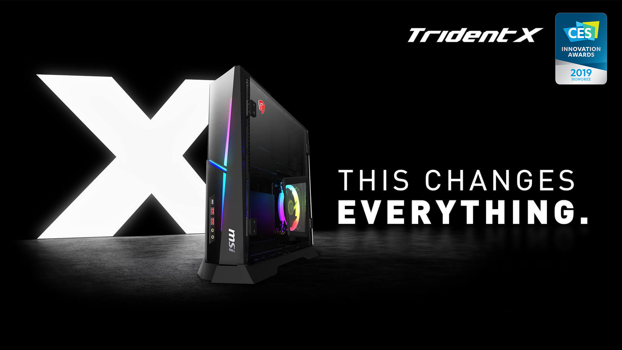 MSI TridentX Gaming Desktop PC