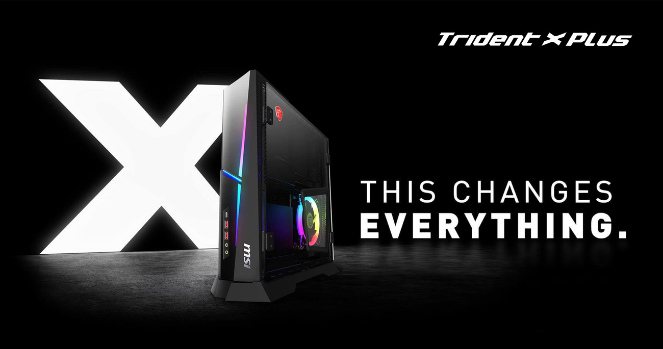 Trident X Plus side view