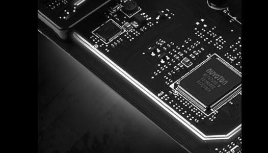 Isolated Audio Design with LED Border
