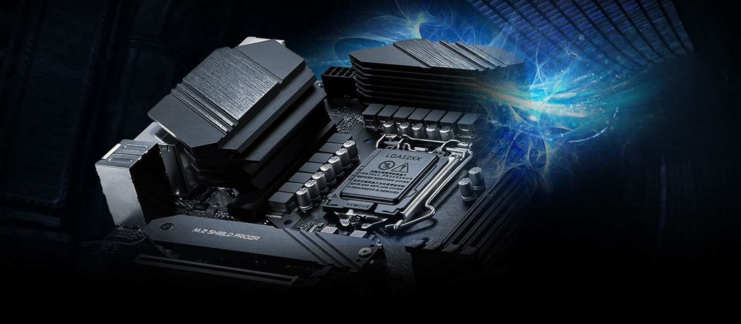Z490 Motherboard made by MSI