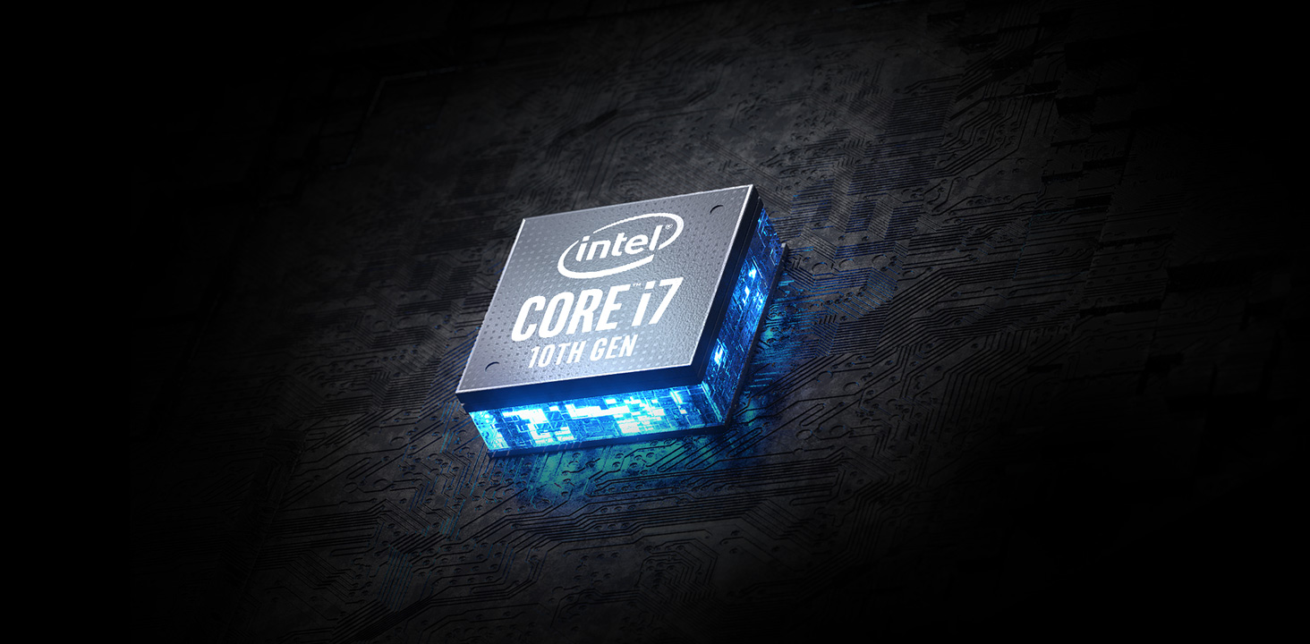 Large Logo - Intel Core i7 10th Gen