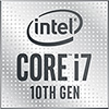 Small Logo - Intel Core i7 10th Gen