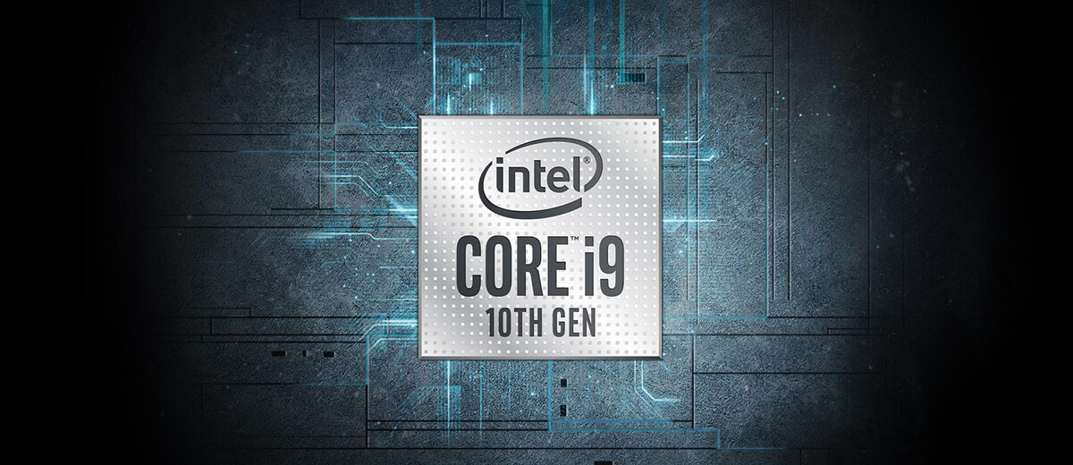 Large Logo - Intel Core i9 10th Gen