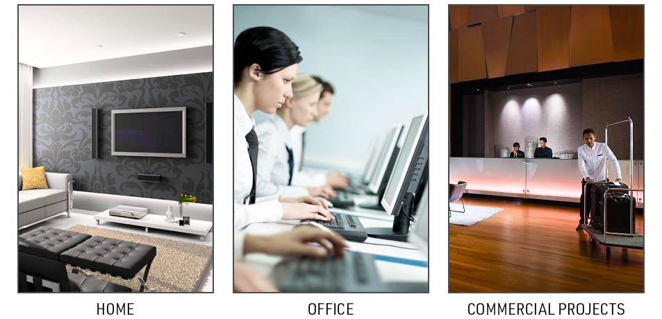 Cubi N can be used in different environment: Home, Office and Commercial Projects.