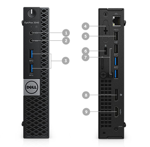 Neweggbusiness Dell Desktop Computer Optiplex 3040