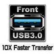 Front USB 3.0 port