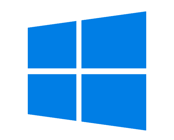 Blue Windows logo