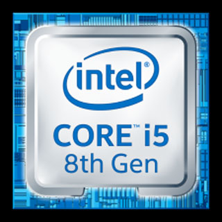 Intel Core i5 8th badge