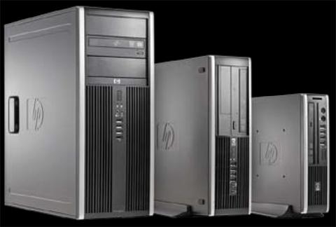 Refurbished: HP Desktop PC Elite 8000 Core 2 Duo 3 0 GHz 4 GB 250 GB HDD  Windows 7 Professional 64-Bit - Newegg com