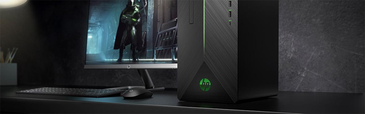 Hp Gaming Desktop Pavilion 690 0019 Ryzen 5 2400g 3 60 Ghz 8 Gb