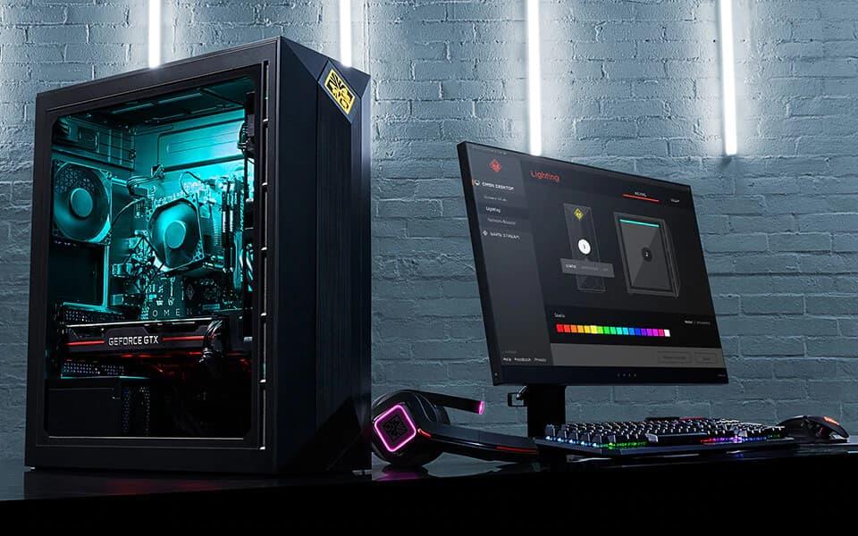 Hp Gaming Desktop Omen Obelisk 875 0010 Ryzen 5 2nd Gen 2600 3 40