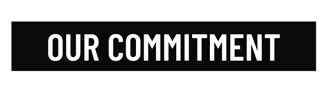 Our commitment text icon