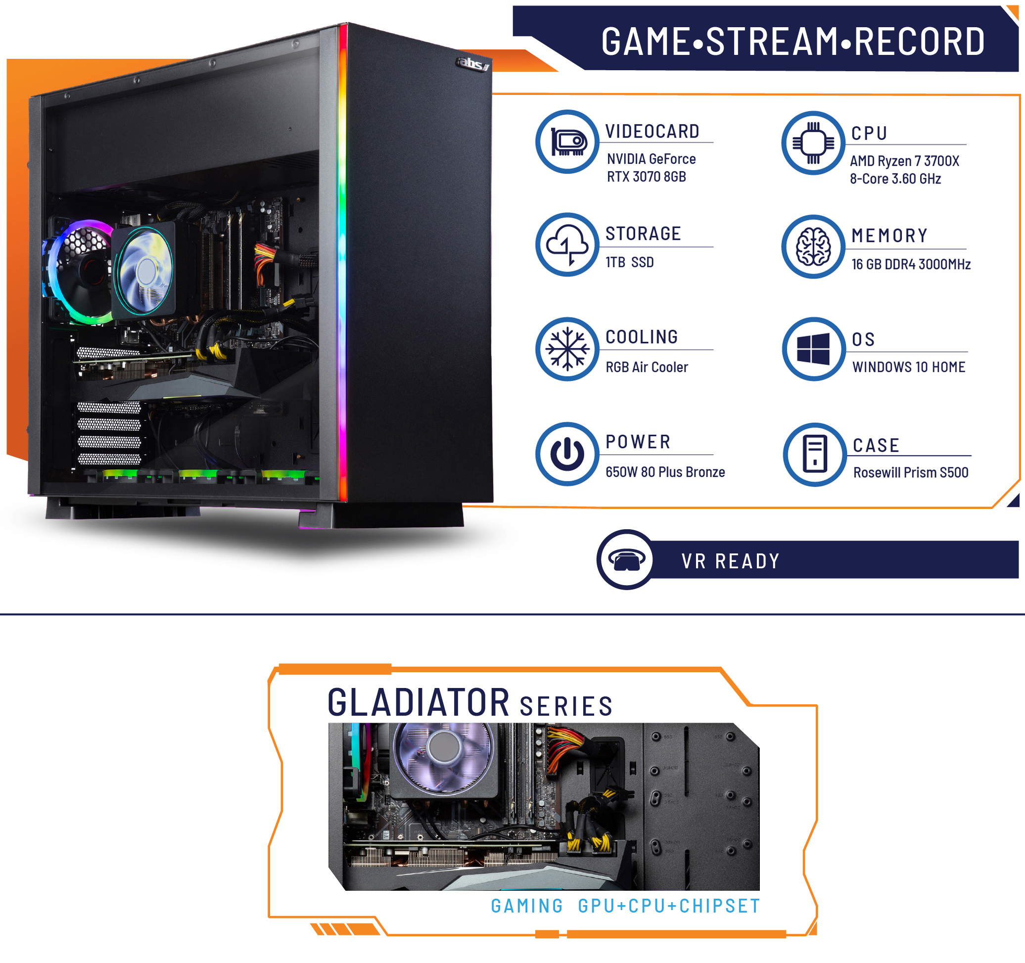 ABS Gaming Desktop