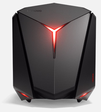 Used - Like New: Lenovo Desktop Computer IdeaCentre Y720 Cube (90H2000BUS)  Intel Core i7 7th Gen 7700 (3 60 GHz) 16 GB DDR4 1 TB HDD 128 GB SSD NVIDIA