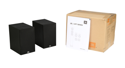 jbl loft 30 two-way 4 bookshelf loudspeaker pair 2